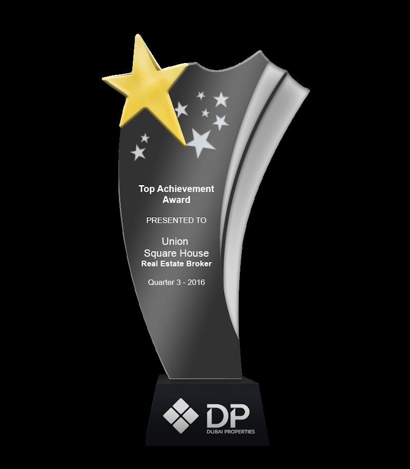 Dubai Properties Top Achievement Award Q3